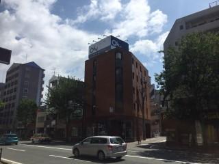 大井不動産様の塔屋(屋上)広告板施工