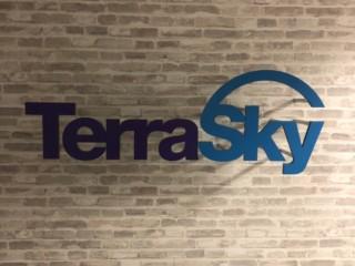 TerraSky様サイン施工