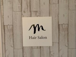 カッティングシート施工(Hair Salon m様)