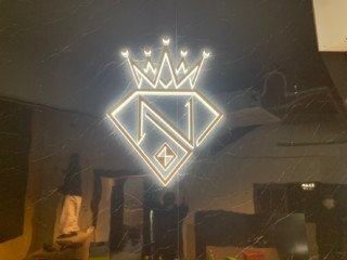 LED側面発光サイン製作施工(ナンバーワン様)