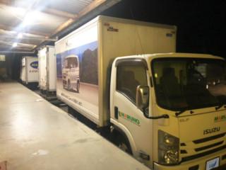 大型トラック ラッピング(那須印刷株式会社 九州営業所様)