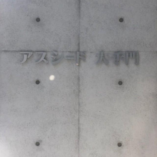 ステンレス切文字 (アスシード大手門様)